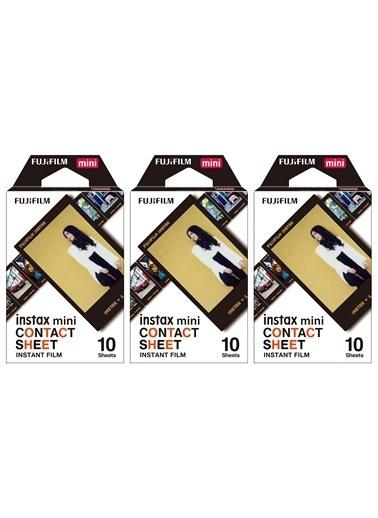 Instax Instax Mini Contact 10X3 Film Seti Renkli